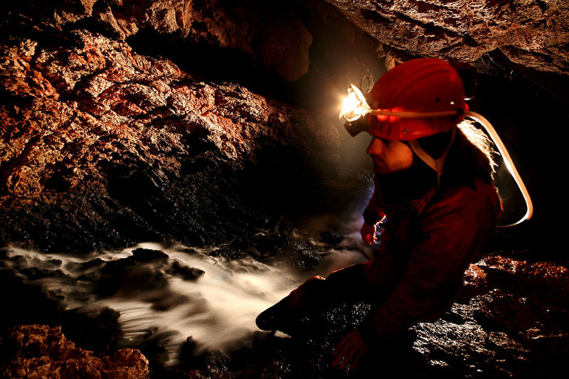 Spelunkers exploring a beautiful cave Archaeology Dark Exploring Headlamp Science Stalactite  Underground Cave Cave Formations Cavern Caves Photography Caves_collection Caving Discovery Explorer Geology Grotto Mystery Paleontology Speleo Speleology Spelunkers Spelunking Spéléologie Stalagmite