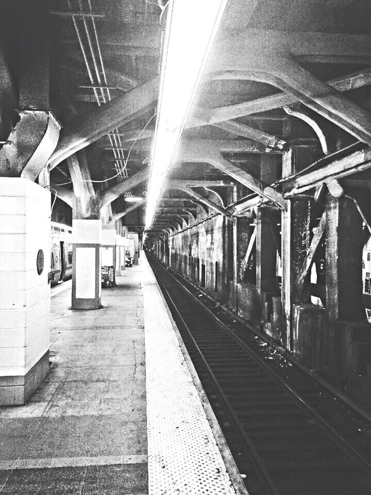 My Favorite Place Transportation Railroad Track Railroad Station Railroad Station Platform Public Transportation Rail Transportation Mode Of Transport Travel Built Structure Diminishing Perspective The Way Forward Subway Station Vanishing Point Day Subway Platform Modern Public Transport Architectural Column Railway Station Platform an oldie but I do love it down in the underground... NYC Grand Central Station Underground