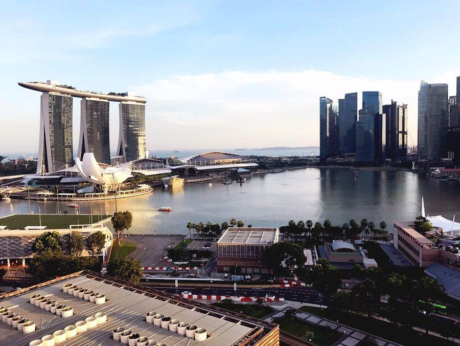 Marina Bay Sands Singapore Singapore View Holiday