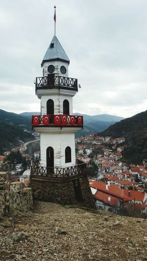 Historical Building Hello World Watch-tower Ottoman Style Taking Photos Great Atmosphere