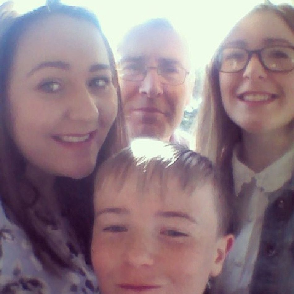 Daddy- 'Oh are we taking a selfie?' Lingo Downwiththekids Easter Donegal family