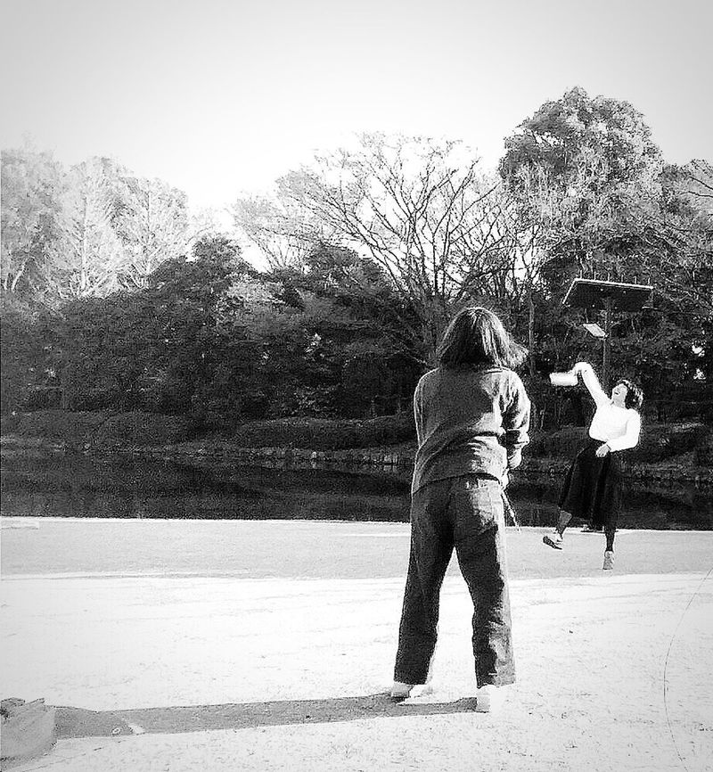 the young Japanese Women having a go at Badminton Streetphotography Bnw Bnw_streetphotography Tokyo Spring Bnw_captures Bnw_city Bnw_tokyo Bnw Photography Eyemphotography Eyeem Spring EyeEM Tokyo EyeEm Japan EyeEm Gallery Eyeem Streetphotography EyeEm Bnw