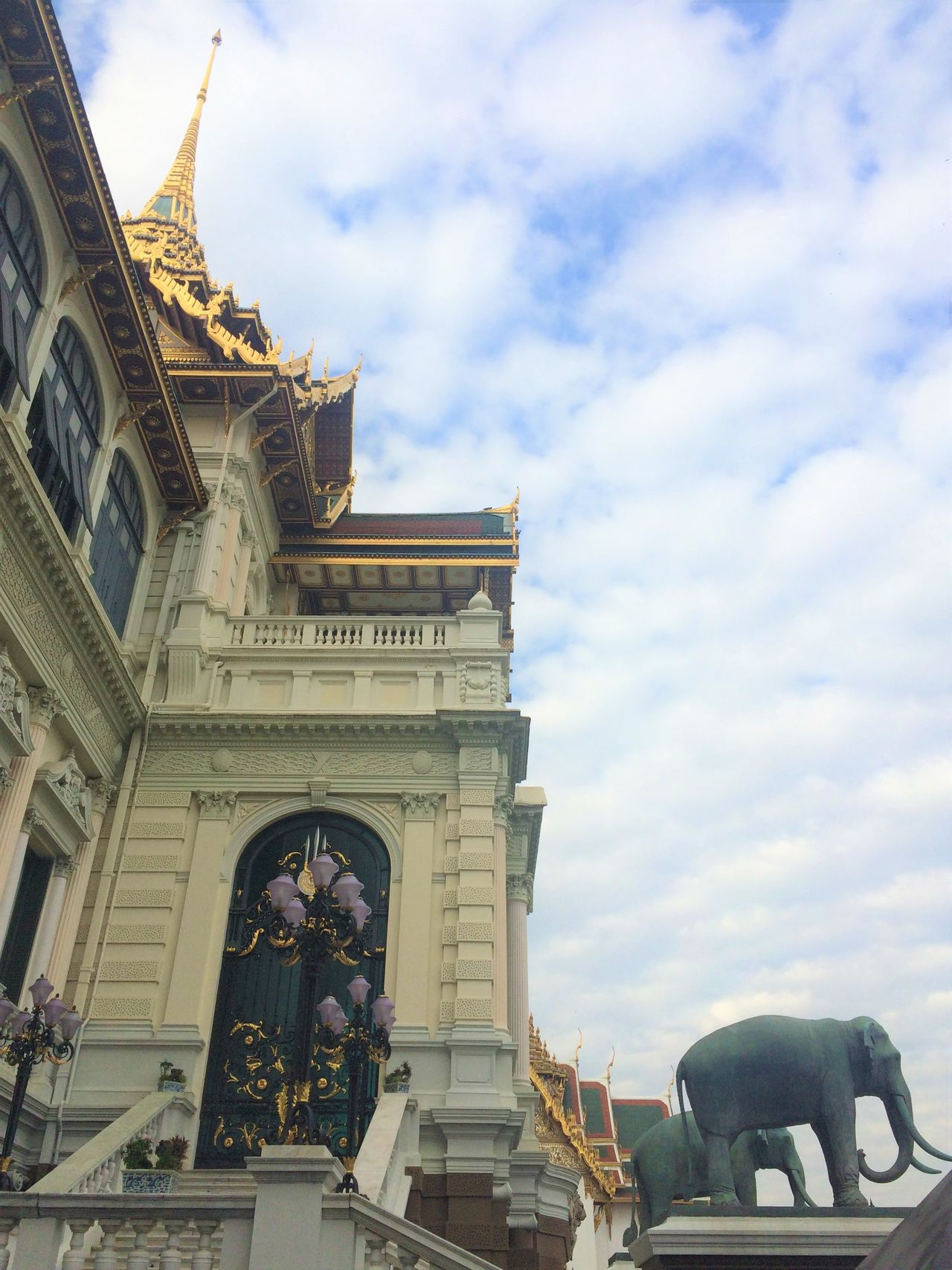 Grand Palace Bangkok (Thailand) Amazing View Architecture Architecture Bangkok Thailand. Building Exterior Built Structure City City Cloud - Sky Cultures Day History Journey King No People Outdoors Palace Photo Sky Thailand Travel Travel Destinations