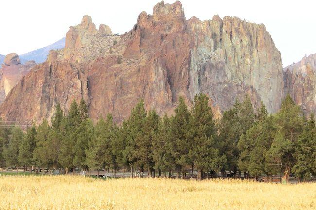 Smith Rocks Oregon Smith Rocks Terrebonne Oregon State Park  Rock Climhing