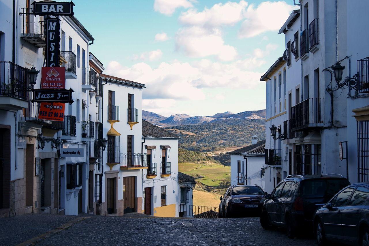 In the streets of Ronda Andalucia Spain Andalucía Architecture City City Street Cityscape No People Pueblo Blanco Ronda Ronda Andalucia Ronda Spain SPAIN White Village