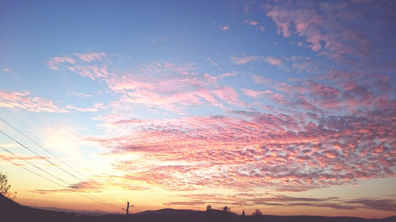Sunset France View From My Terrace