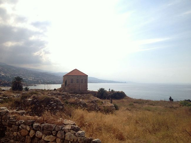 Ottoman House Old Mediterranean Sea Alone East Mediterranean Byblos Lebanon Old Buildings Old Architecture