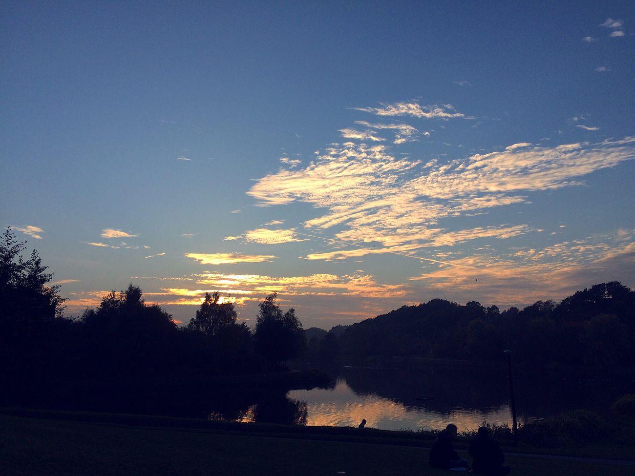 Sun ☀ Sunset Louvain Louvainlaneuve Lac Nature Vieuw
