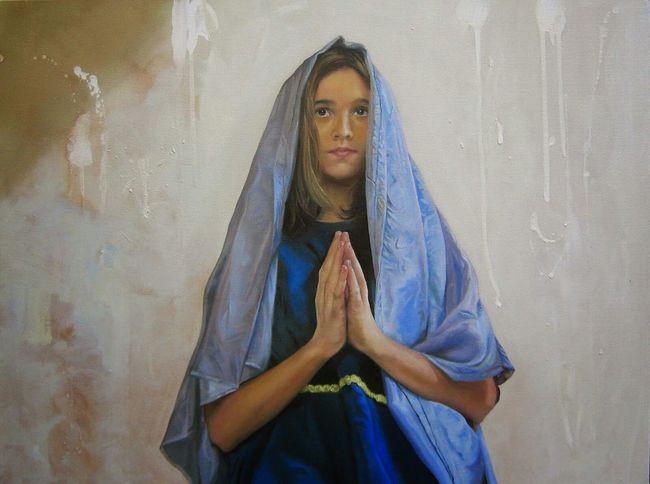 L'annuncio a Maria Oliosutela Oiloncanvas Art Pittura