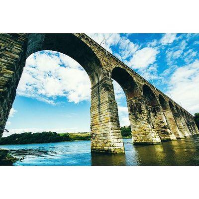 Royal Border Bridge.. Berwickupontweed Northumberland Explorenland CapturingBritain Fiftyshadesof_history Ig_britishisles Bridges Historicengland