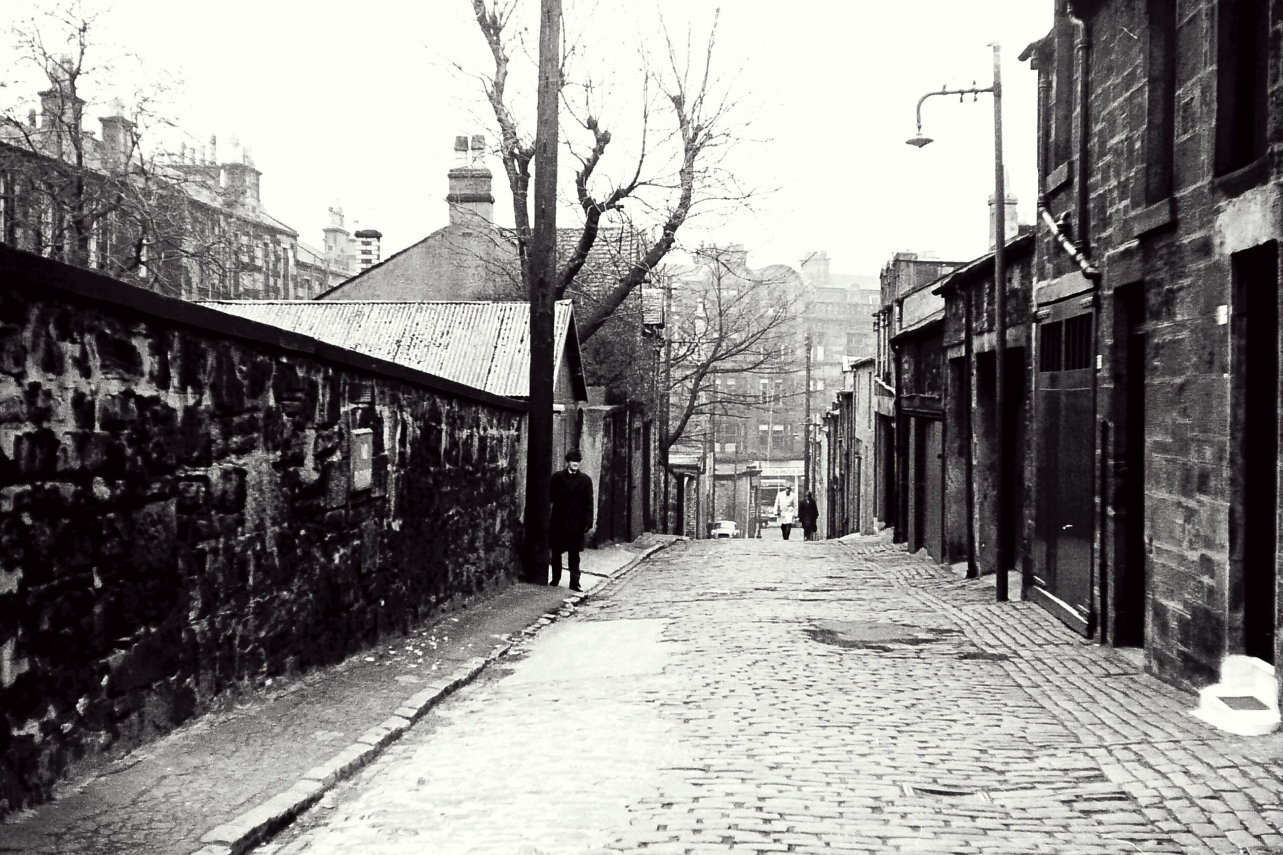 Backstreets & Alleyways leading to Sauchiehall Street near