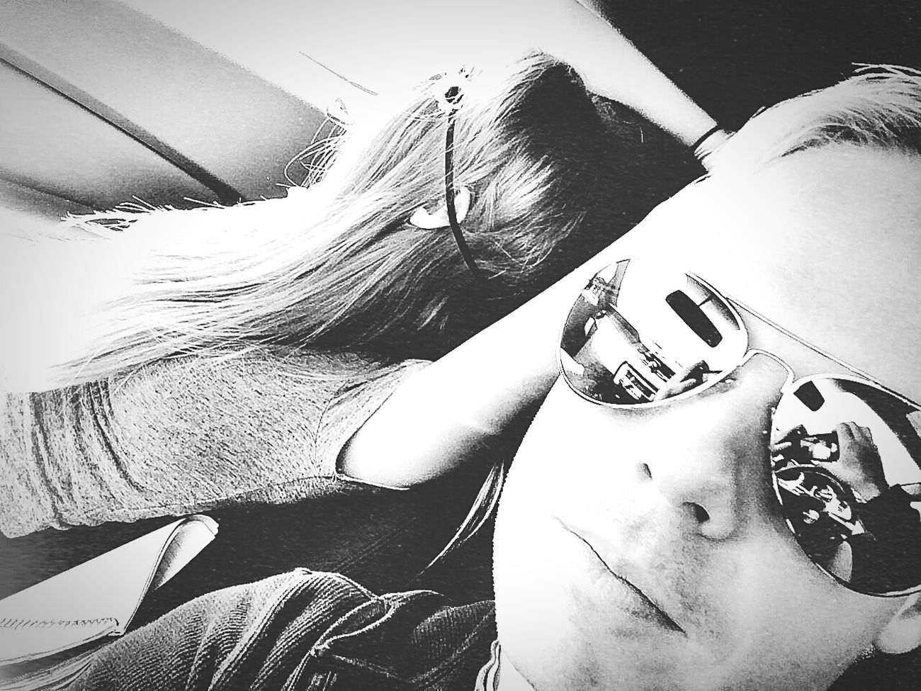 Enjoying Life Hippie ✌ Road Trip Relaxing Sunglasses Hotsprings Gingers Jenbearadventures