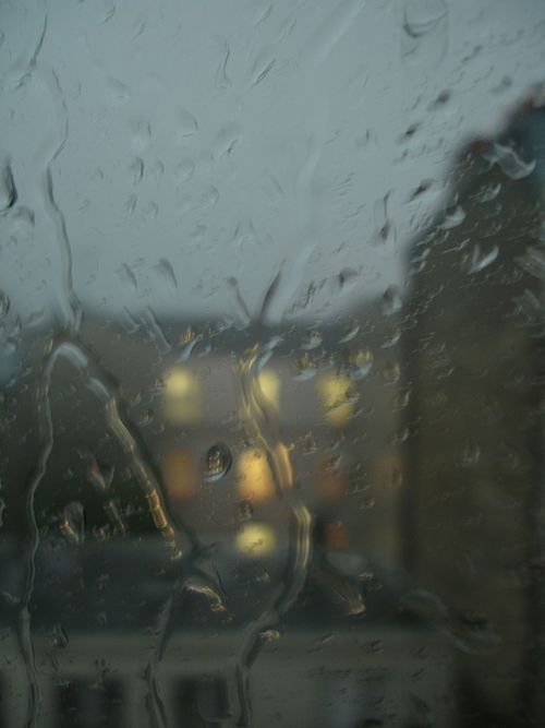 Old photo.. Rainy Day Raining Windows Old Photo ✌