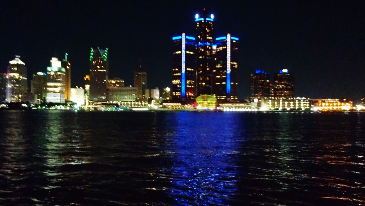 A beautiful evening at the riverfront tonight enjoying the Cork and Fork festival. I love this view. Skyline DetroitSkyLine DetroitMichigan Our American Neighbour Windsor Ontario City View  Detroit