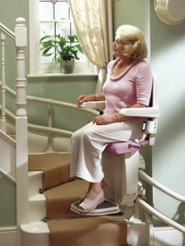 Bruno stairway #lifts are stylish and will add to the beauty of your home while enabling you to enjoy that home more. http://bit.ly/1S5vjnm Bruno Chair Lift Bruno Stairlifts Curved Stair Lift Curved Stairlifts Curved Stairway Lifts Curved Stairways Stairlifts