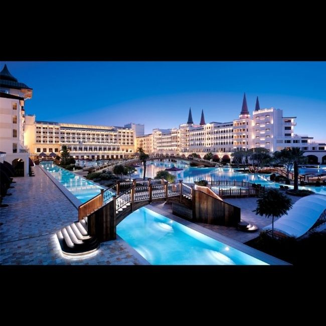 The Mardan Palace is a luxury hotel in Lara, Antalya, Turkey, built by Azerbaijani businessman Telman Ismailov. It is considered Europe's and the Mediterranean's most expensive luxury resort. Mardanpalace Luxury Lavishliving Millionaire Billionaire  Paridise Luxurylife Palace Yrflifestyle