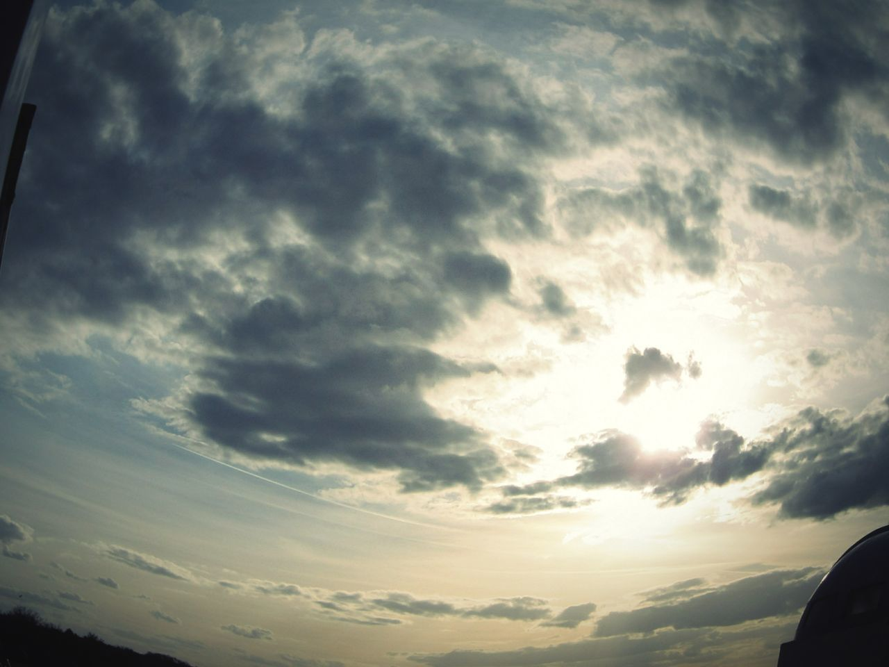 cloud - sky, sky, nature, sunset, beauty in nature, low angle view, tranquil scene, no people, scenics, tranquility, outdoors, day