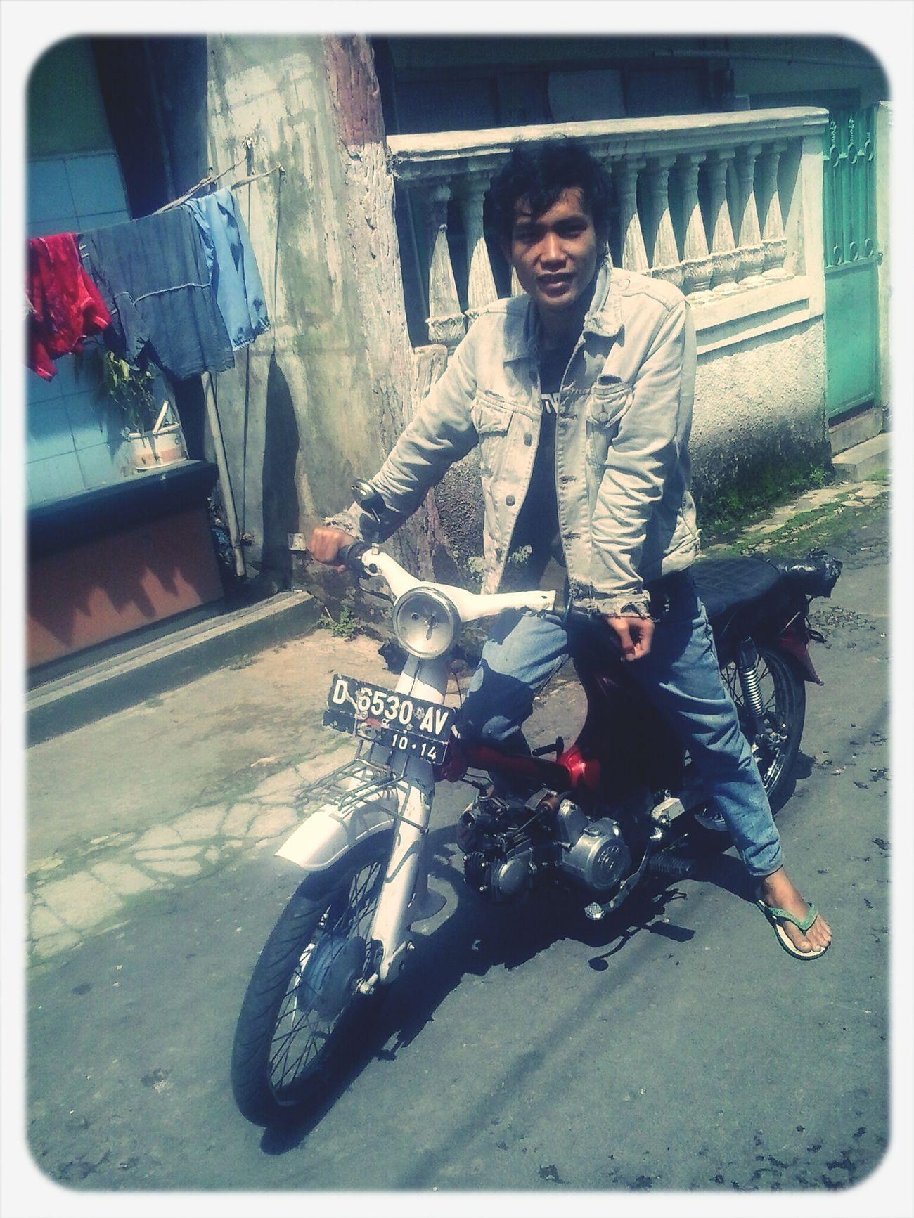 My bike Honda c-70 Years 1978 . Classic