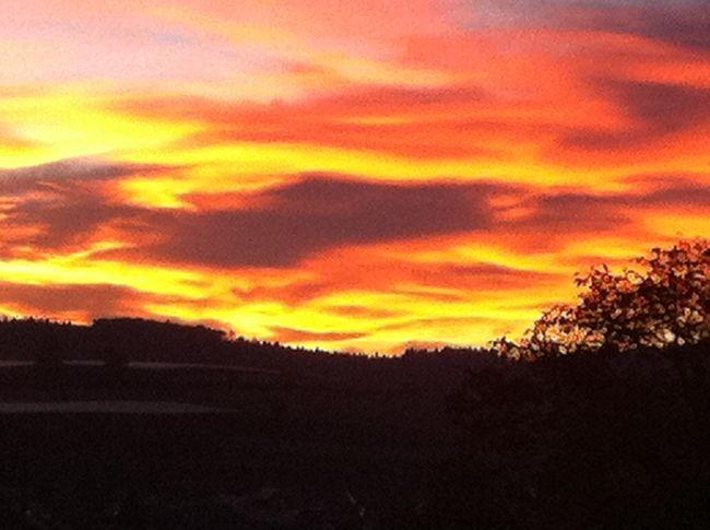Tonight Is Sunrise at Stockach