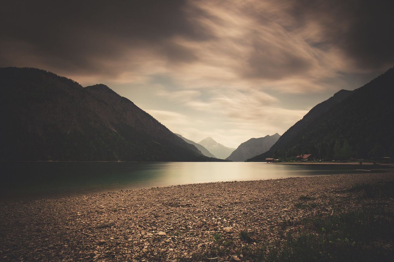 Plansee Nature Photography Beauty In Nature Mountain Naturelovers Austria Reutte Ammergau Tranquility Mountain Range Long Exposure Moody Phorexbyjaworskyj Mood Captures Momentkeepers