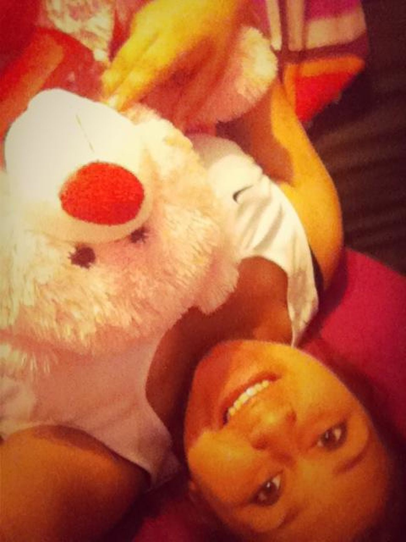 With The Bear Bestfriend Gave Me ☺