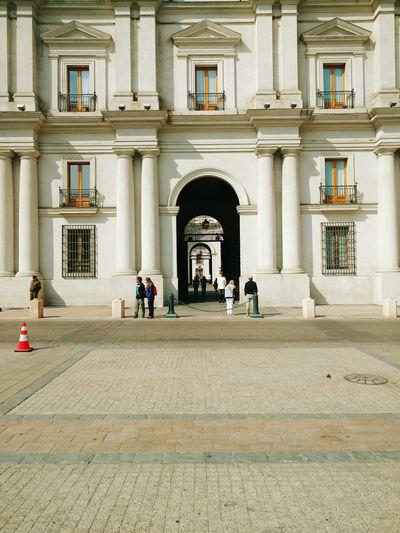 Architecture Built Structure Travel Destinations Santiago De Chile Palacio De La Moneda