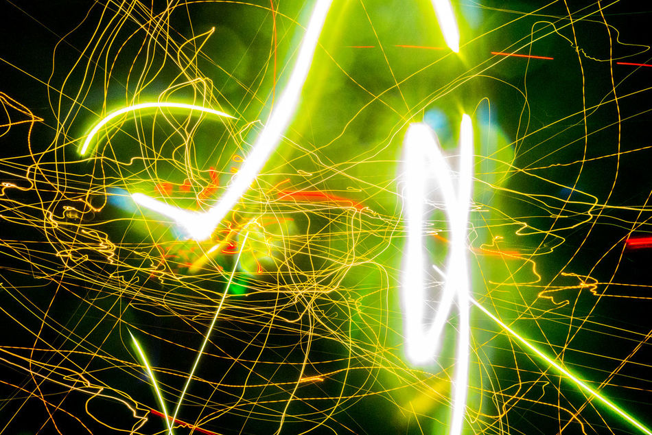 Backgrounds Close-up Colorful Full Frame Glowing Green Color Growth Illuminated Light Lightpainting Lightpaintingphotography Lightplay Lightporn Lights Multi Colored Night Outdoors Sky Vibrant Color