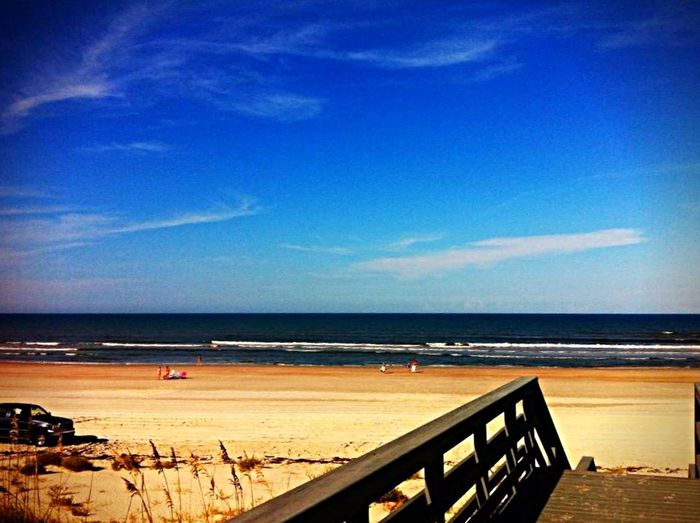 Beach Sand Blue Sky Landscape Color Photography Enjoying Life Check This Out EyeEm Best Shots Clouds Ocean