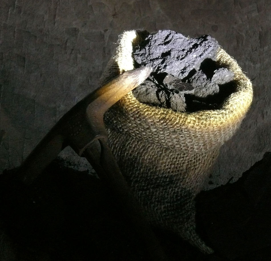 Braunkohle Braunkohletagebau Briketts Close-up Coal Coalmine Coals Of Fire Erzgebirge Festbrennstoff Kohle Kohlekraftwerk No People Outdoors