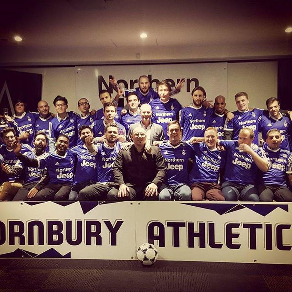 To say I'm proud is an understatement...amazing club Swifts OneClub  TAFC Bluearmy Mindthegap
