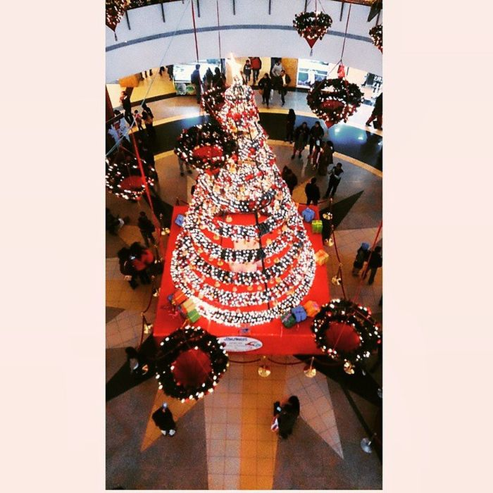Christmas is around and become merrier in the city..... Delhi Christmas TheGIPmall Noida Winters Enjoyment