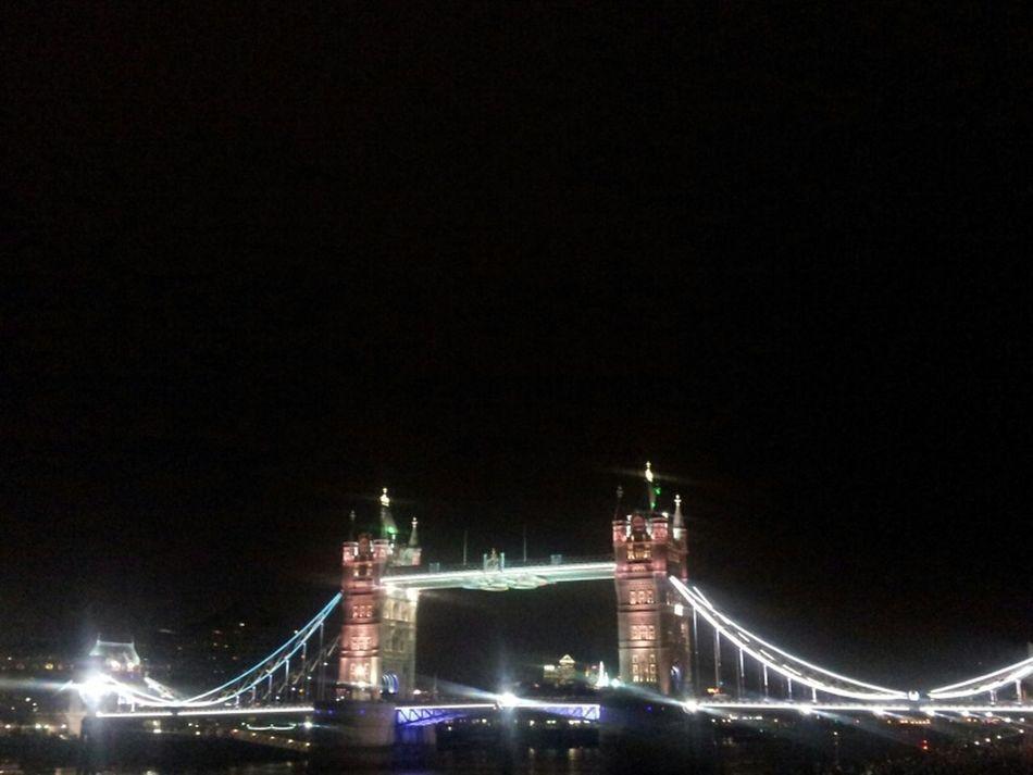 Streetphotography Bridge Exploring Night Lights London