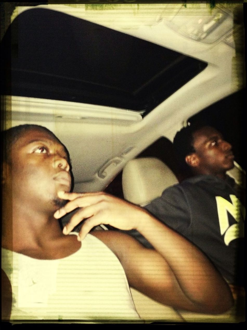 Me & Lil Bruh Kevin Ridin Around Last Night.