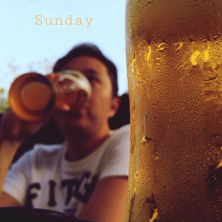 IPhoneography Beer Sunday Relaxing