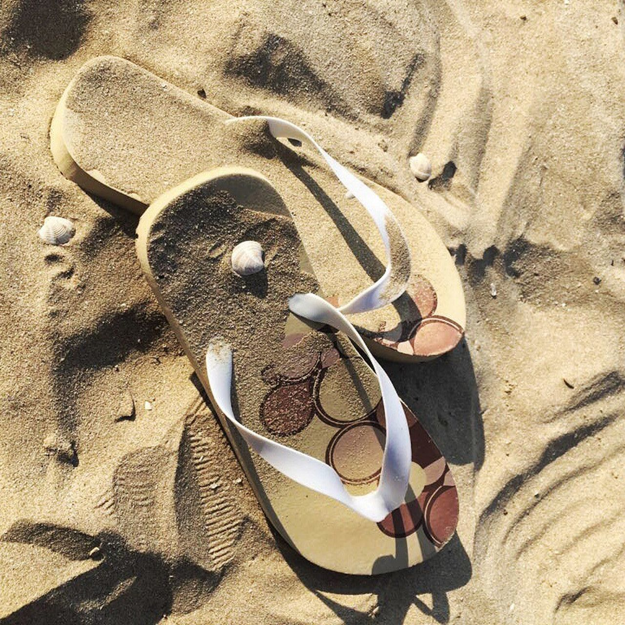 Beach Sand High Angle View Sunlight Vacations Outdoors Summer No People Nature Marche Fano Italy Tranquility Relaxation Pesaro Urbino