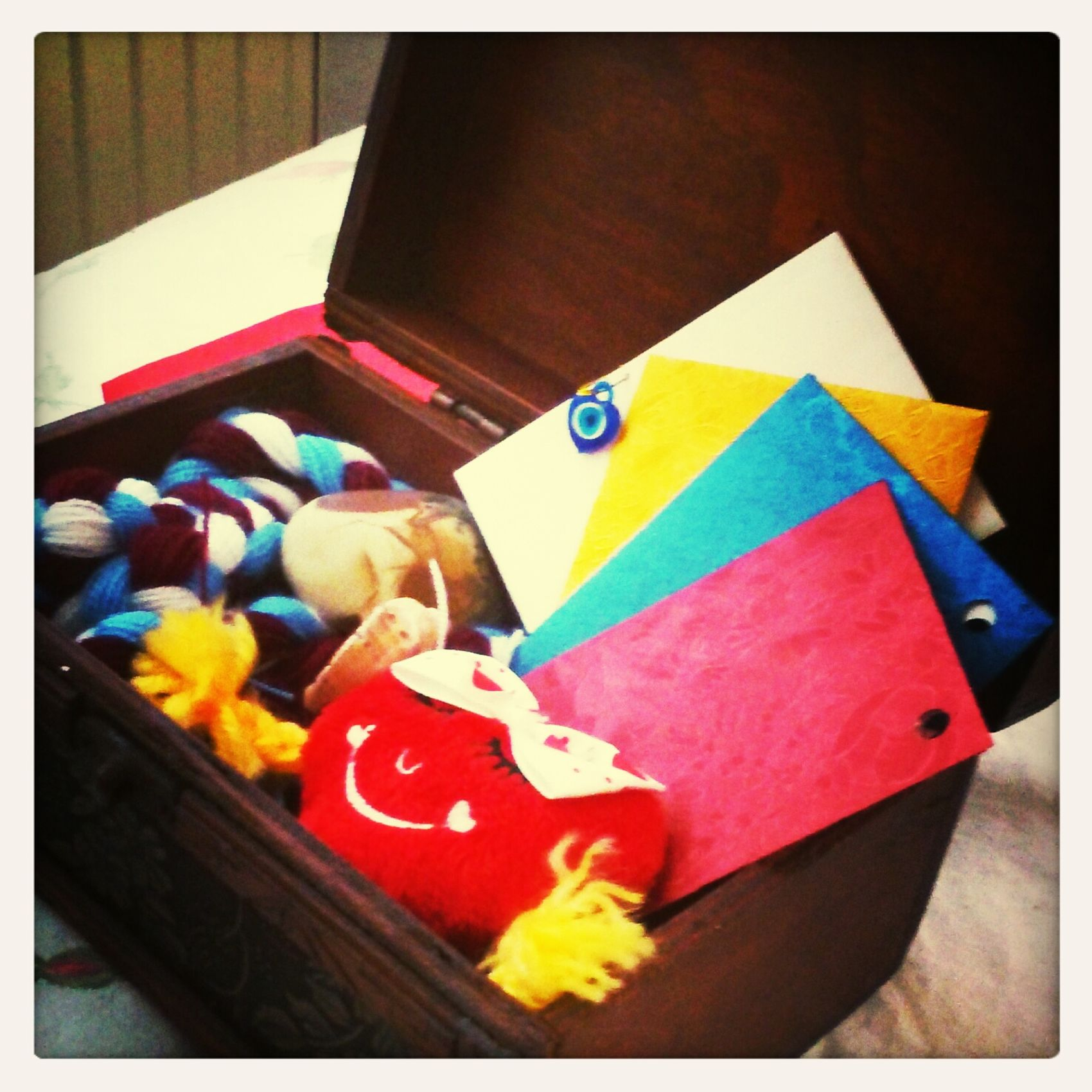 Enjoying Life My_souvenirs Box Taking Photos