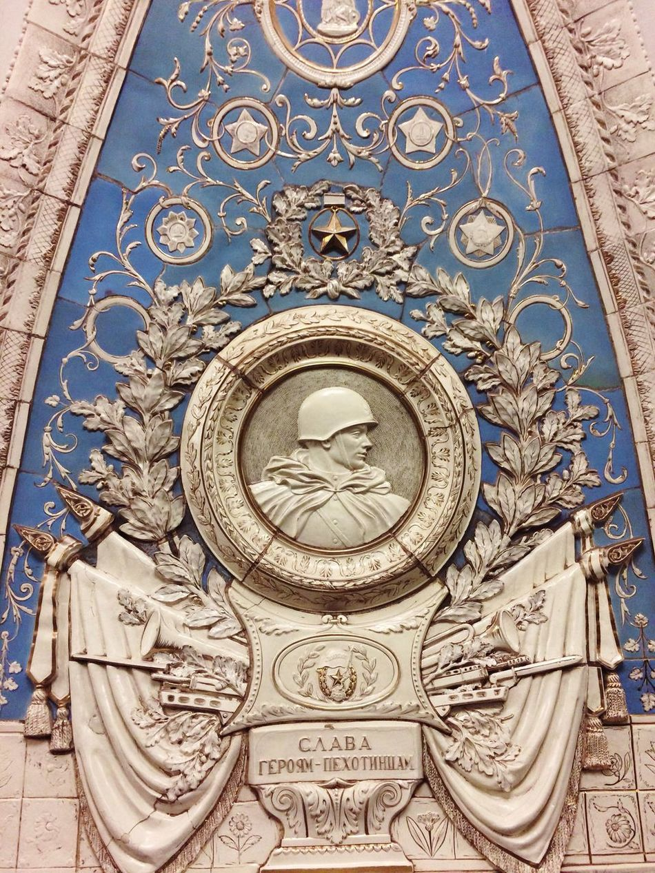 In Moscow metropolitan. Taganskaya station. History Architecture Built Structure No People Building Exterior Ussr Architecture Metro Station Metro Metropolitan Design Soldier Moscow Moscow Metro Stations Simmetry Art Historical Place Art Is Everywhere EyeEmNewHere