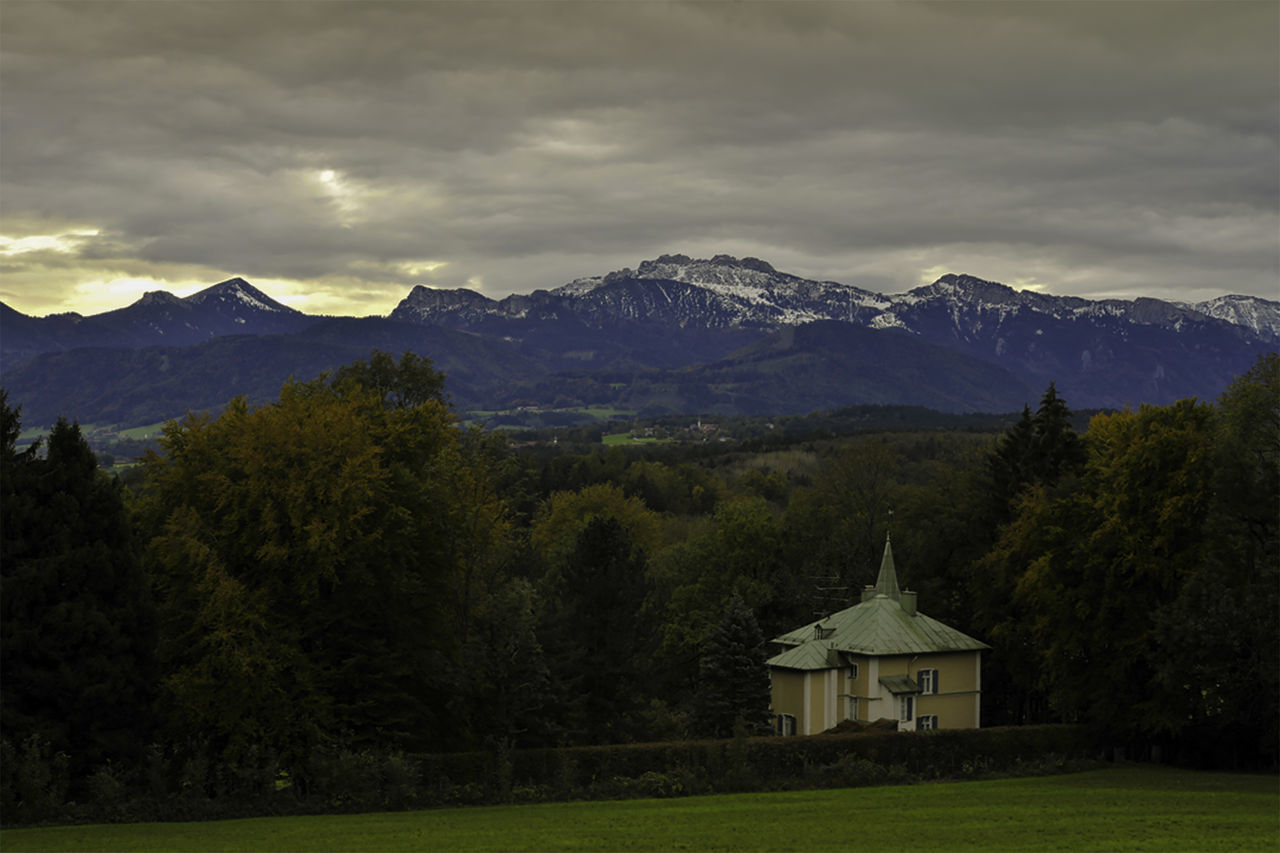 Chiemsee Architecture Beauty In Nature Landscape Mountain Mountain Range Nature Sky WoodLand