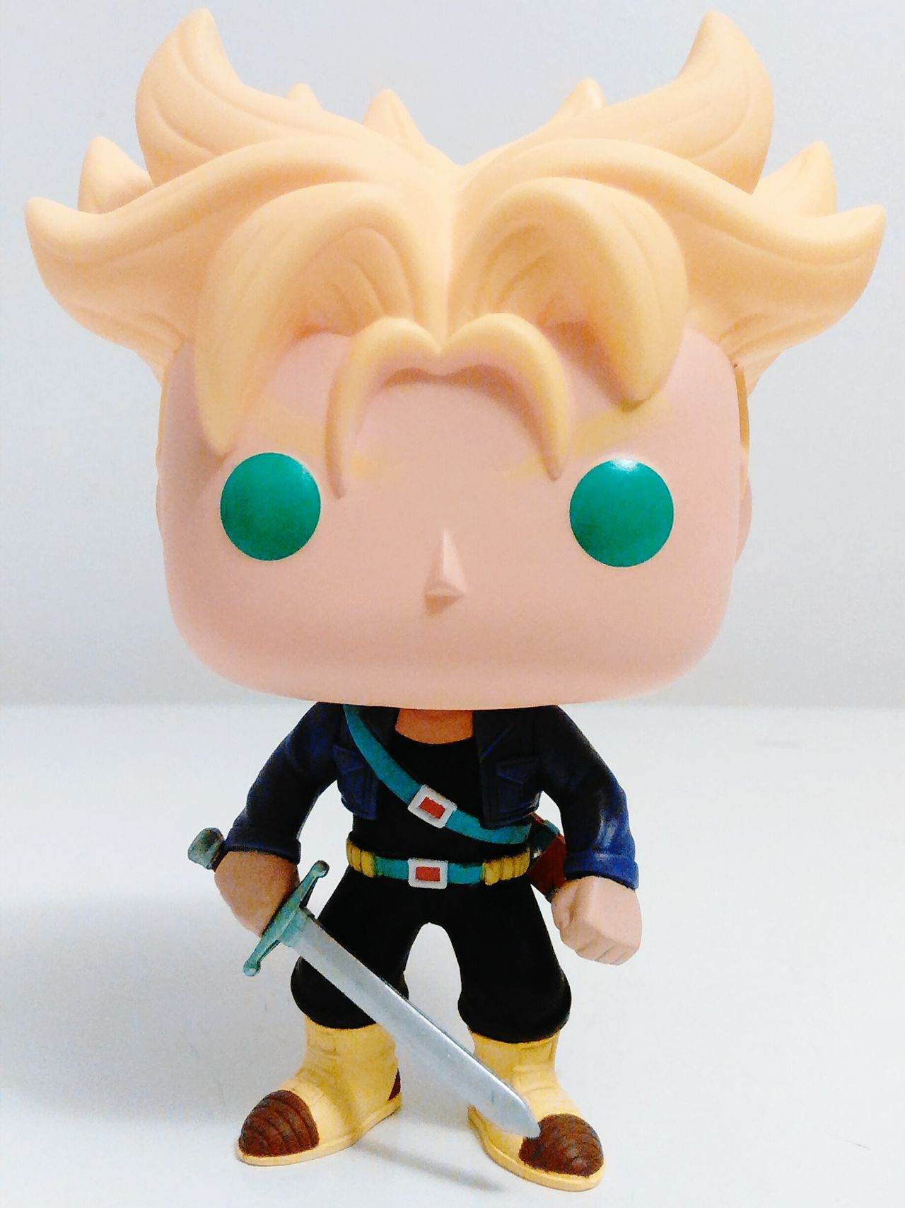 Studio Shot White Background Indoors  Close-up Trunks Dragonballz Supersaiyan Single Object Upclose  Exclusive  Newyorkcomiccon Colorful Funko Funkopopvinyl Still Life In Front Of Vibrant Color Whitebackground Popfunko Amazing Exclusive  Soexcited Brandnew Exclusive  Extreme Close-up