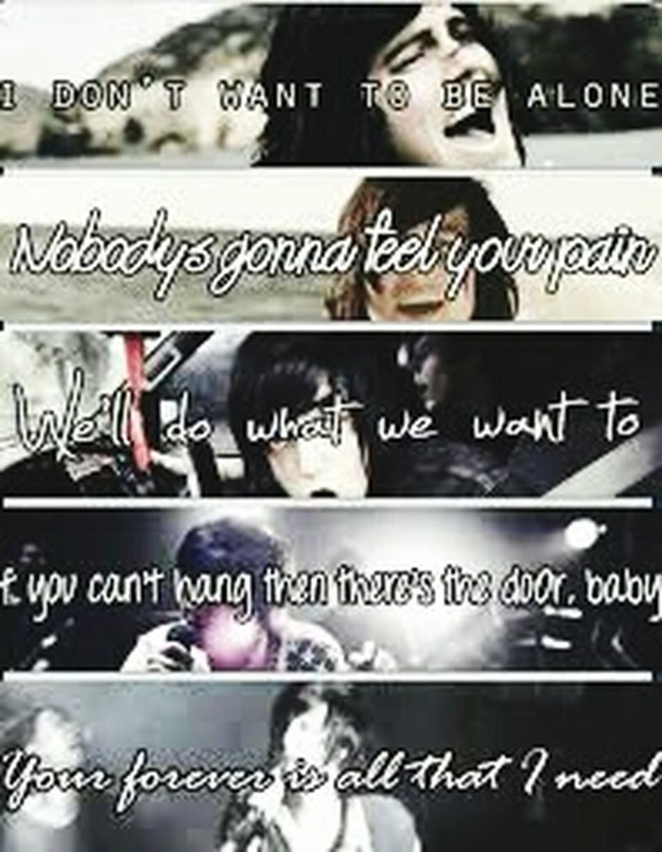 Sleepingwithsirens Sws❤ Punkrock Punkmusic KellinQuinn Alone Rogerrabbit Do It Now Remember It Later Ifyoucanthang If I'm James Dean, You're Audrey Hepburn❤