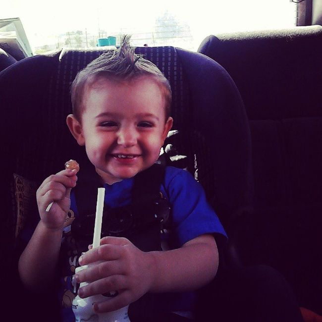 Mason's new Haircut Dimples  Cutestkidever Cutestbabyever