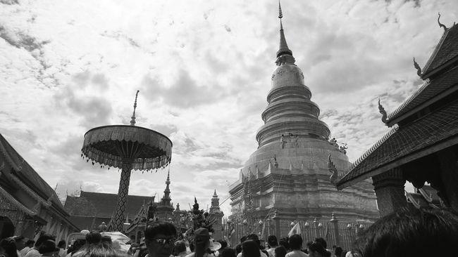 Visakha Bucha Temple Pagoda Lumphun