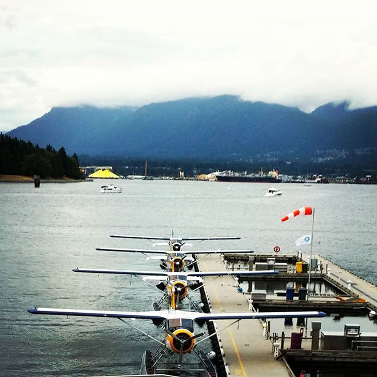 Ready for TakeOff Hydroplane CoalHarbour airport instaplane vancitybuzz mustbevancouver instavancouver northshore