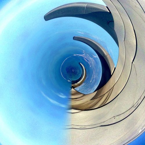 Blue Low Angle View Outdoors Sky No People Day Building Exterior Architecture Concentric Water Fish-eye Lens Close-up EyeEm Best Shots EyeEm EyeEm Team EyeEm Best Shots - Nature EyeEm Nature Lover EyeEm Best Edits EyeEm Gallery Eye4photography  Eyem Gallery Eye EyeEmBestPics Eyeemphotography Eyemphotography