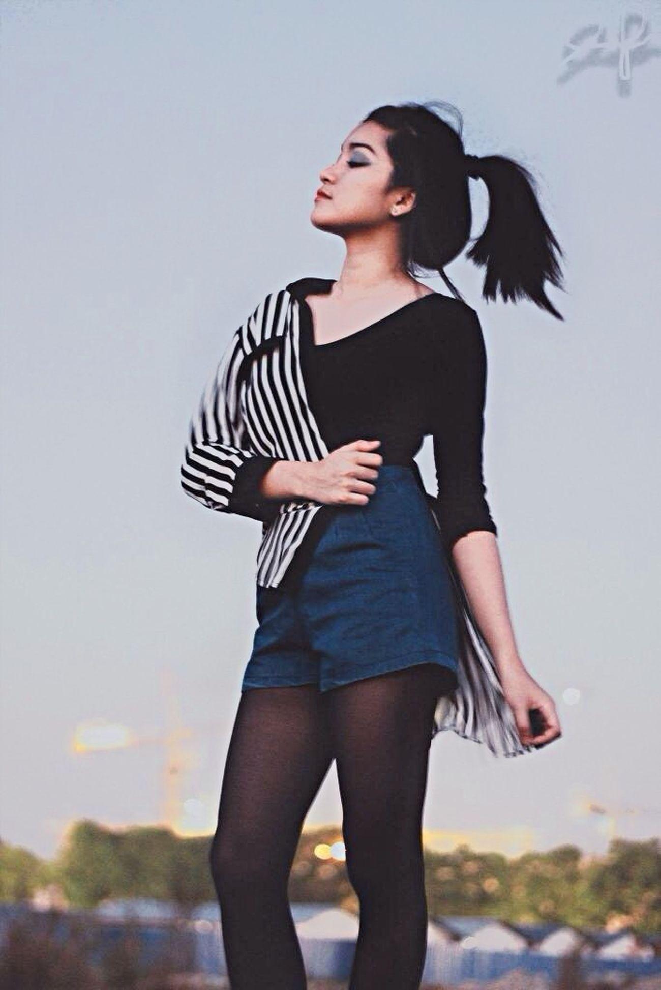 Make Magic Happen Baesic Sara Jessica Black And White Black Stripes