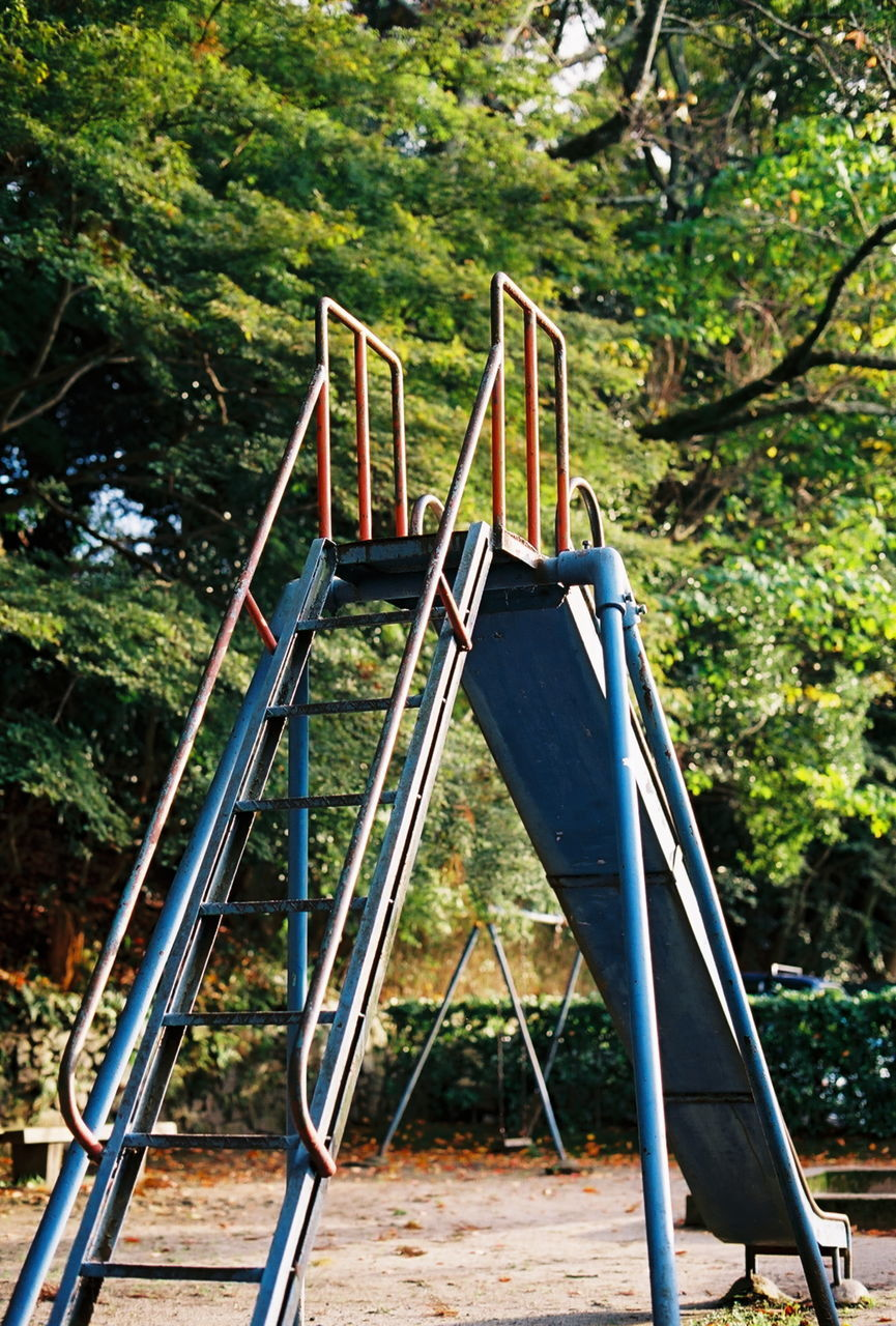 Slide on playground