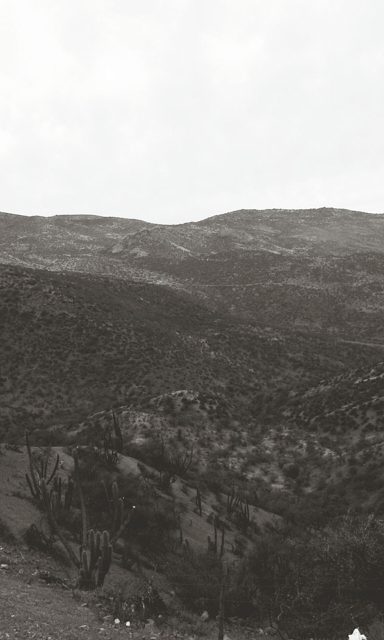 Melancholic Landscapes Losandes Mountains Santiago