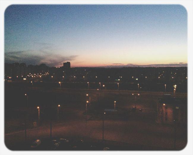 Обожаю вид со своего балкона