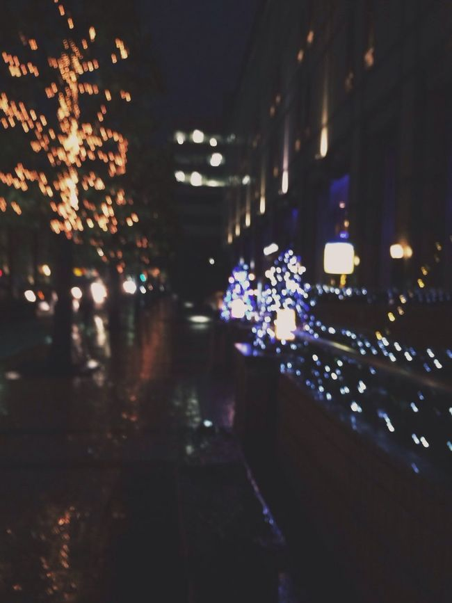 Rainy Nightlights