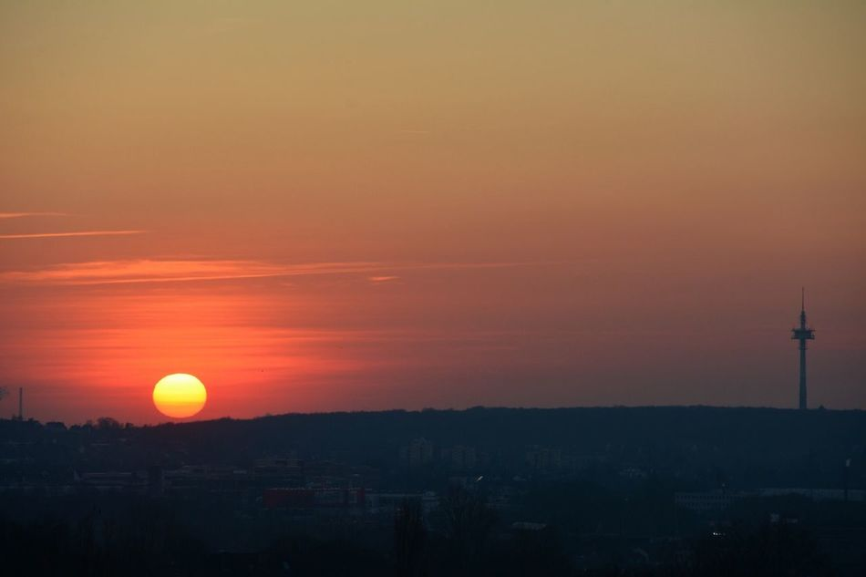 Pastel Power Sunset Sun Fire Ball Hello World Check This Out Relaxing Taking Photos Enjoying Life February 2016